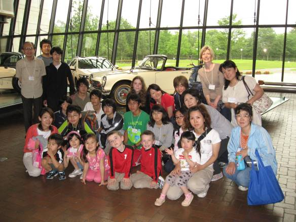 The boys and I on a UICS field trip.  I teach English to all but two of the kids in this photo.