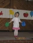 Katie loved her pom poms.