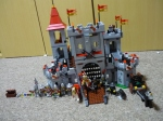 Austin's completed castle.