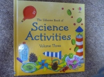 Our science activities book