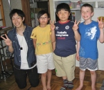 Best Club friend Neo with Austin, Chisato-kun, and Joe-kun