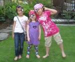 Katie and her female pirate pals, Serina and Mina